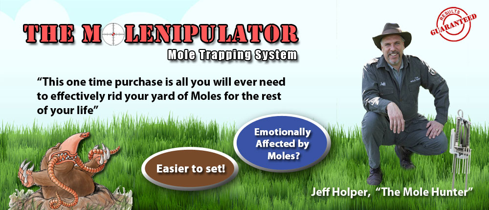 The Molenipulator Mole Trapping System